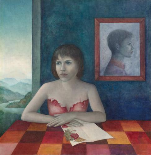 Klemz: dualistic self-portrait II {autorretrato dualista}