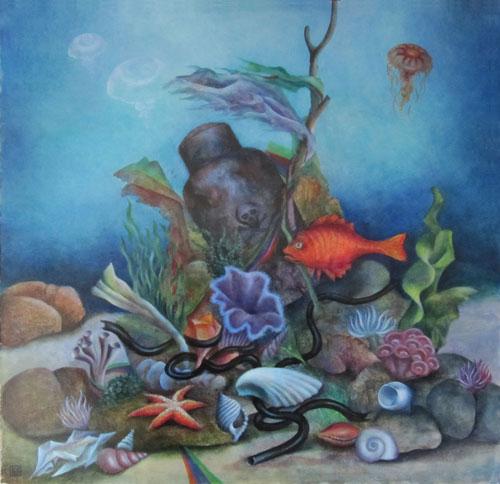 Klemz: jardín marítimo de Haeckel hoy día