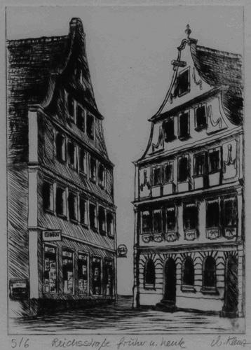 Klemz: Reichsstraße - antigua y actual