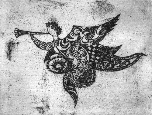 Klemz: angel on the move {ange en route}