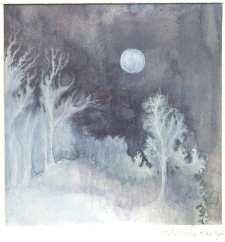 Klemz(Knop): silvery wood {forêt d'argent}