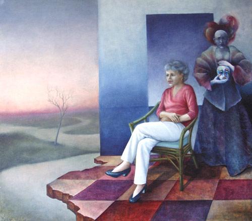 Klemz: dualistic self-portrait III