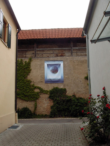 Klemz: sublime feeling of life in the province (Mauerschau 2009)