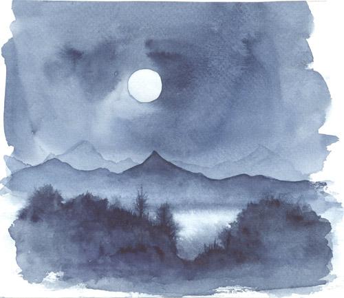 Klemz: a nochecer en el lago