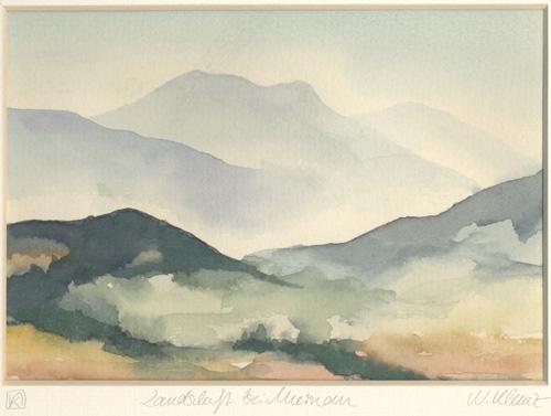 Klemz: scenery with Murnau {paysage chez Murnau}