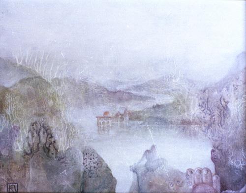 Klemz(Knop): the temple on the river {le temple sur la rivière}
