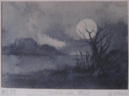 Klemz: by the river at night {au rivière de nuit}