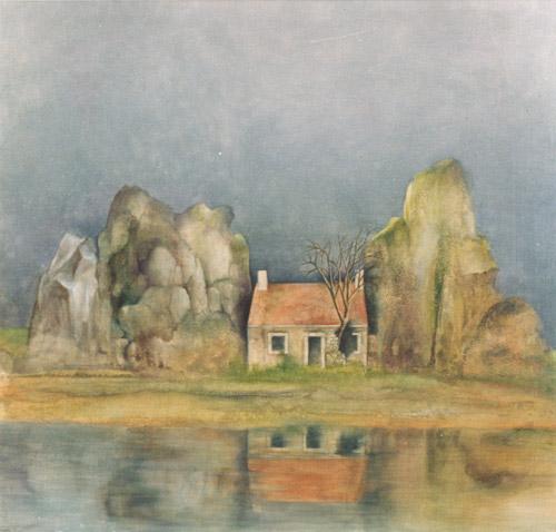 Klemz: house between the rocks {maison parmi les rochers}