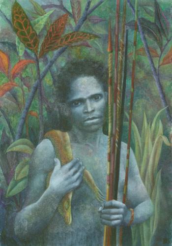 Klemz: El indígena (Hommage an Salgado)