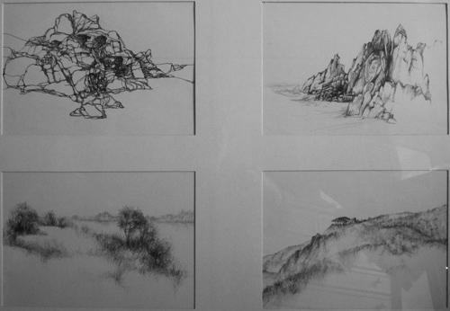 Klemz(Knop): landscape studies