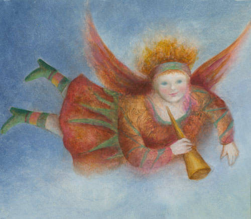Klemz: Ángel divirtiéndose