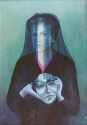 Klemz: self-portrait with mask