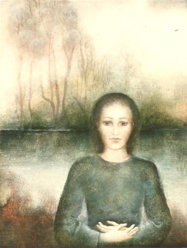 Klemz: mujer al río