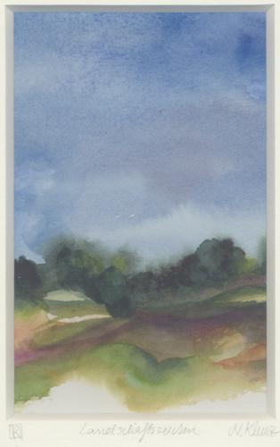 Klemz: landscape drawing {signes de paysage}